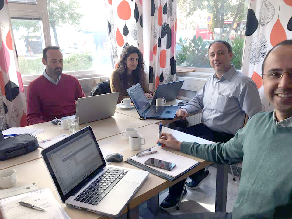 Symplexis participated in the second meeting of the Volutoring project held in Stocholm!