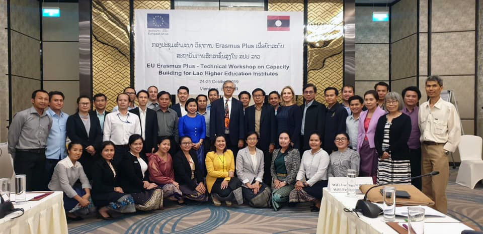 Capacity Building in Higher Education Programme — Technical Workshop in Vientiane, Laos