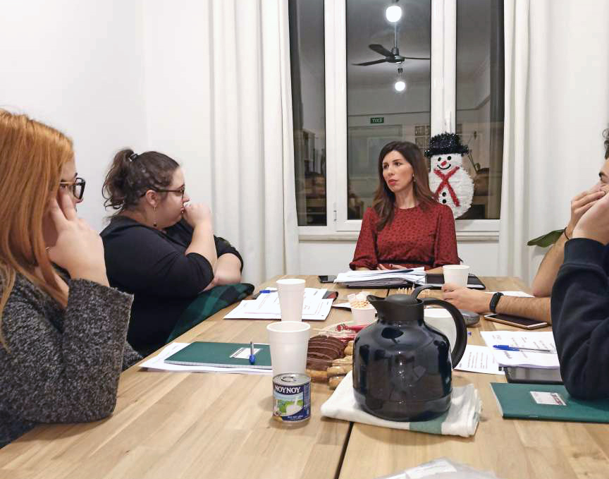 National training of the Greek Youth Advisory Board for the Children First project