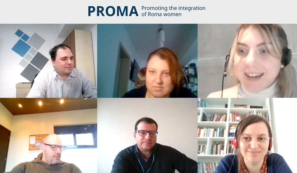 PROMA – Promoting the integration of Roma women – Kick-off meeting