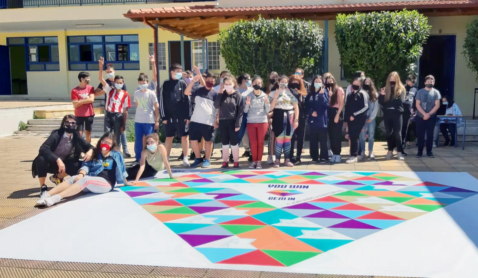 Read more about the article 204 μαθητές συμμετείχαν στην πιλοτική δοκιμή του παιχνιδιού που αναπτύχθηκε στο πλαίσιο του Ευρωπαϊκού προγράμματος GEM IN!